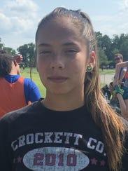 Nicole Doughten, Crockett County