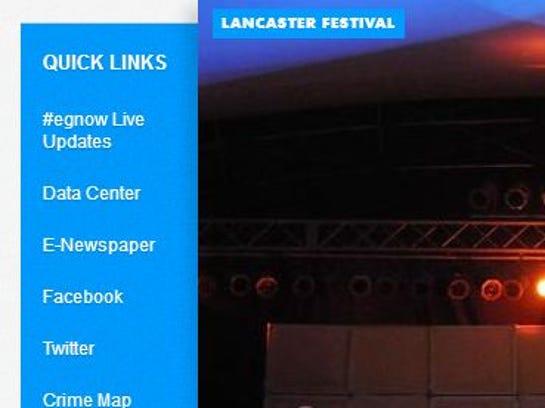 LAN quick links