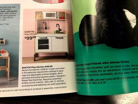Ikea's Duktig play kitchen.