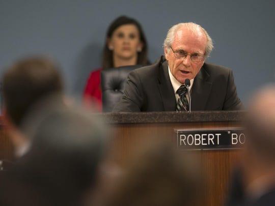 Bob Burns of the Arizona Corporation Commission speaks