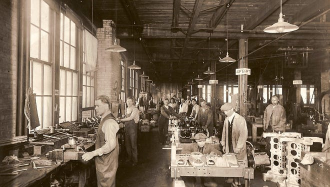A circa 1920 image from the former Cunningham Carriage Factory on Litchfield Street, which DePaul converted into affordable apartments for people with special needs.