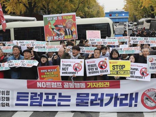 South Korea Asia Trump