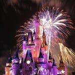 The Magic Kingdom's castle.