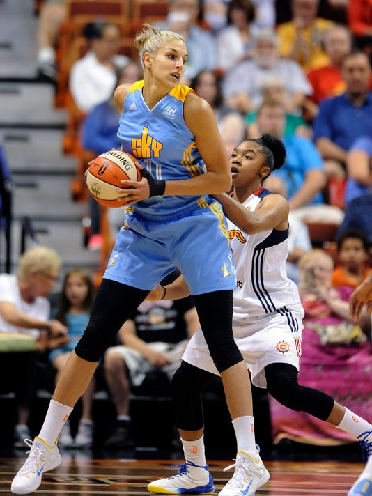 Alex Bentley, Elena Delle Donne