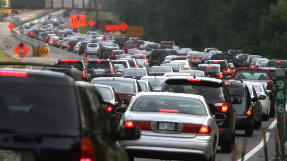 11 mile delay on garden state parkway south