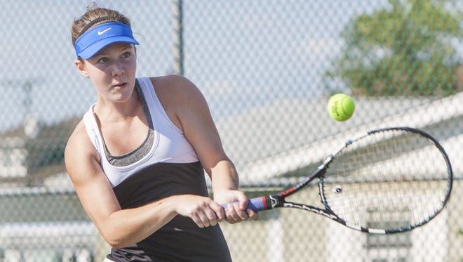 Toms River East's Jamie Breunig was named the first seed at the 2014 Ocean County Tournament.