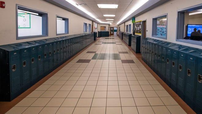 Bellingrath School in Montgomery, Ala. on Thursday March 29, 2018.