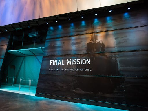 Final Mission: USS Tang Submarine Experience exhibit