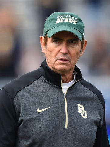 Baylor coach Art Briles has his team on the cusp of