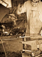 Urban Homesteading series teaches 19th-century frontier skills, such as blacksmithing.