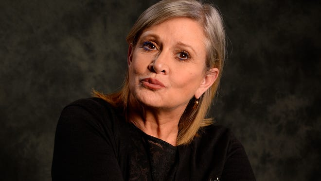 'Star Wars: The Force Awakens' actress Carrie Fisher says her next book is based on journals she kept while filming the first 1977 movie.
