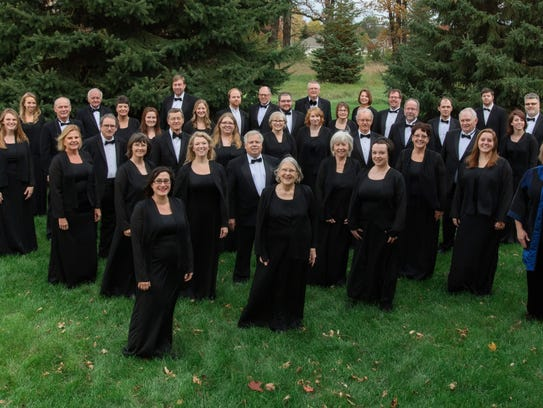 The Great River Chorale will perform with two high