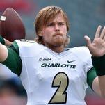 Kevin Olsen, Charlotte QB and brother of NFL's Greg Olsen, arrested on rape charges