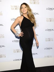 Blake Lively arrives at the Ninth Annual Women of Worth Awards hosted by L'Oreal Paris at The Pierre hotel on Dec. 2 in New York.
