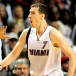 Goran Dragic was ejected in the third quarter after