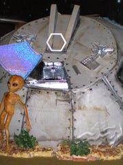An Area 51 exhibit at the Alien Zone in Roswell, New
