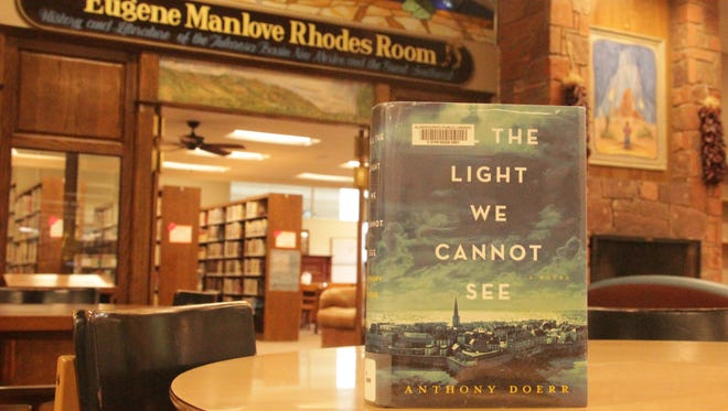"This One City, One Book discussion event centered around Anthony Doerr's ""All the Light We Cannot See""  will take place from 1 p.m. to 4 p.m. Nov. 21 at the Alamogordo Public Library. The group invites anyone to read the book and then attend the event. For more information call Nadia Sikes at 491-7910."