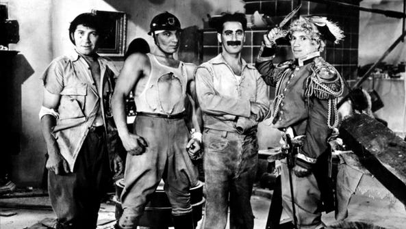"The Marx Brothers classic ""Duck Soup"" will be shown"