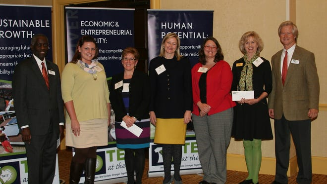 Four communities were awarded 2015 Hughes Investments Elevate Upstate Grants.