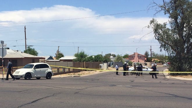 Officials said the half-mile stretch along Southern Avenue would likely be shut down for at least three hours as officers investigate.