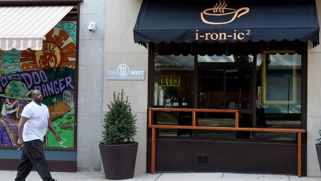 I-ron-ic is opening a coffee shop on West Market Street.
