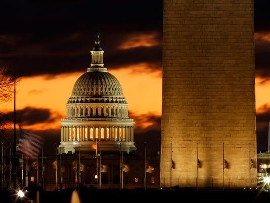 AP APTOPIX SHUTDOWN A USA DC