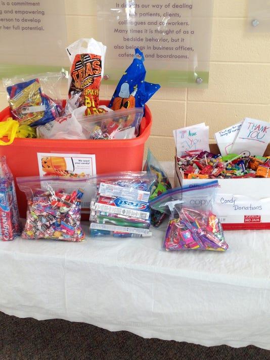'Operation Gratitude' candy