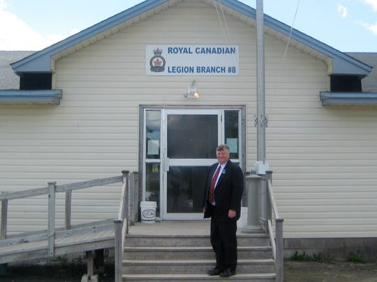 In this Aug. 31, 2011 photo, Gander, Newfoundland,