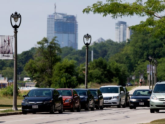 Milwaukee County would begin collecting parking fees on April 1 along Lincoln Memorial Drive and at most county parks. The pay-to-park program is expected to generate $1.6 million in 2018.