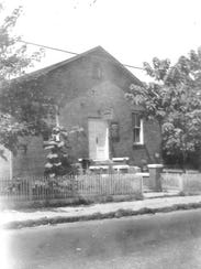 The old Knoxville Mennonite Church, located on the