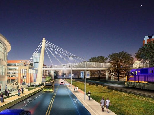 University Of Memphis Plans Iconic Bridge