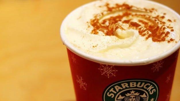 "Starbucks is offering ""Starbucks for Life"" this holiday season."