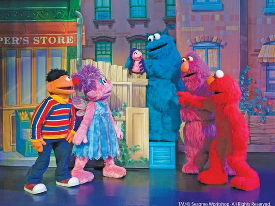 Elmo, Big Bird and their Sesame Street friends will solve the mystery of the missing instruments at the Sesame Street Live! Elmo Makes Music on Tuesday and Wednesday at the American Bank Center. The shows will be at 7 p.m. on both days with an extra 10:30 a.m. matinee performance on Wednesday. Tickets range from $12-$67. For more information, visit http://www.americanbankcenter.com.