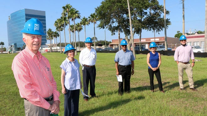 Hyatt and Cici Brown met up with fellow park foundation members Wednesday as an overhaul of the park begins.