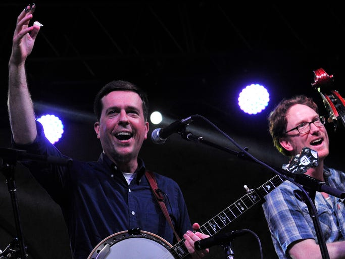 The Bluegrass Situation SuperJam hosted by Ed Helms at the  Bonnaroo Music  & Arts Festival on Sunday, June 15, in Manchester, Tenn.