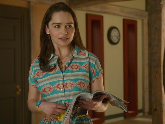 Emilia Clarke is Louisa Clark in 'Me Before You.'