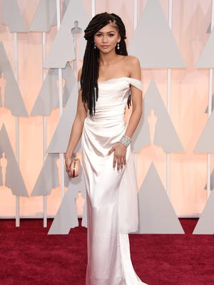 Zendaya at the 87th Annual Academy Awards.
