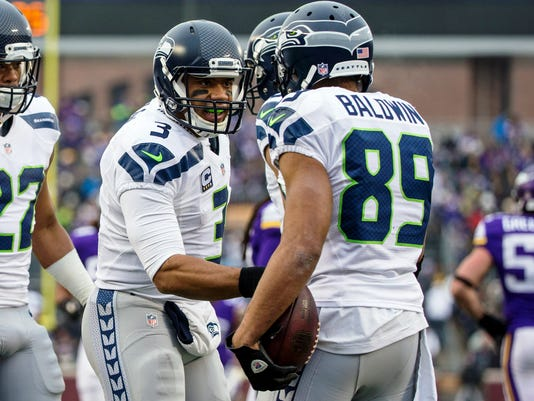 USP NFL: SEATTLE SEAHAWKS AT MINNESOTA VIKINGS S FBN USA MN