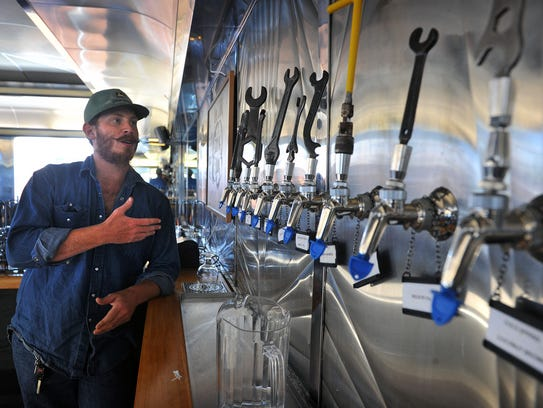 Devin Gruber of Sidecar Brewing describes the 10 different