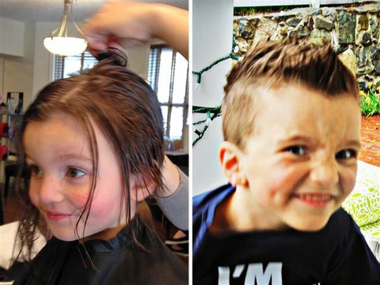Jacob Lemay's parents cut his hair, changed his name and switched his school to allow a fresh start.