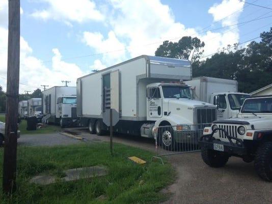 Kaplan movie trucks