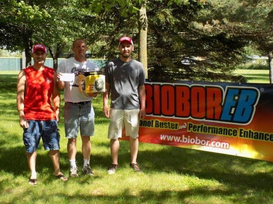 The tandem of Tyler White and Paul Schraughnagel landed the biggest fish of the tournament.