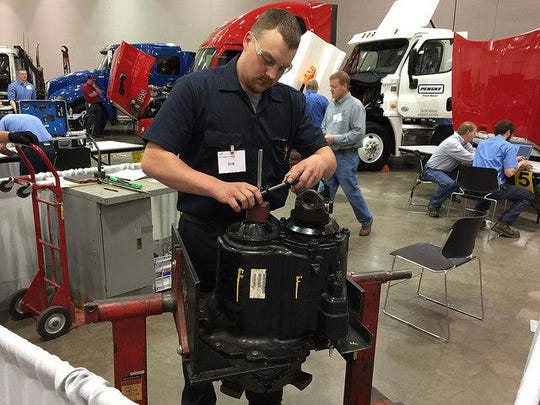 Mid-State Technical College student Austin Busche was one of 13 MSTC students who participated in the State SkillsUSA Secondary Leadership & Skills Conference, an annual showcase and competition for career and technical education students.