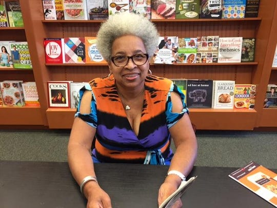 """Joyce Ship-Freeman of Edison, a Perth Amboy educator, who read one of the chapters in """"To Kill a Mockingbird"""" at Barnes & Noble, Menlo Park Mall, Edison on Monday."""