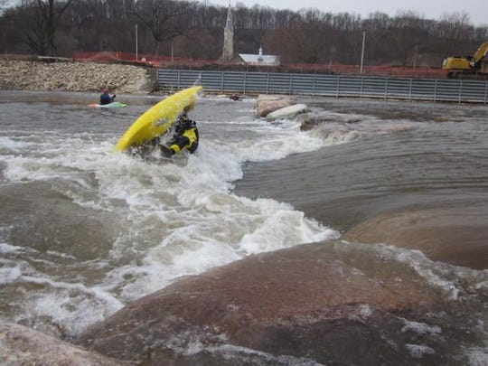 Try the rapids in Elkader.