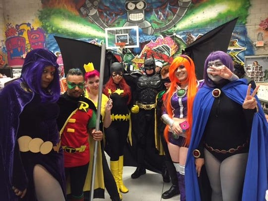 Patrons were dressed in a host of different costumes Aug. 8 at the Florida Comics Experience at Famous Faces and Funnies in West Melbourne.