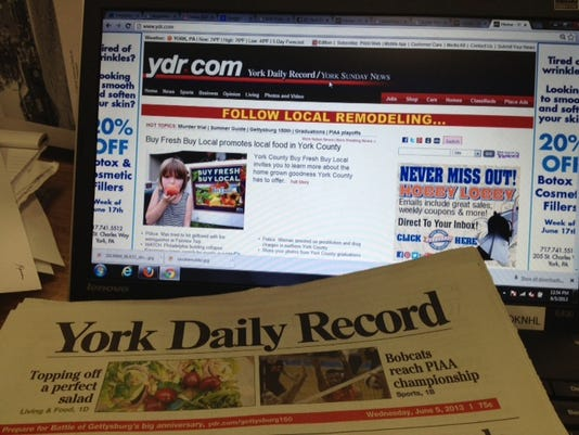 As a freelance writer for the York Daily Record, your stories will appear on ydr.com and in the newspaper.