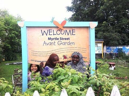 Another summer project from campers at Wingspan Studios was the Avant Garden in Burlington.