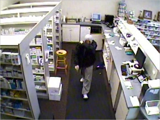 Gettysburg police said this man robbed Laslow Pharmacy on Tuesday morning in the borough.