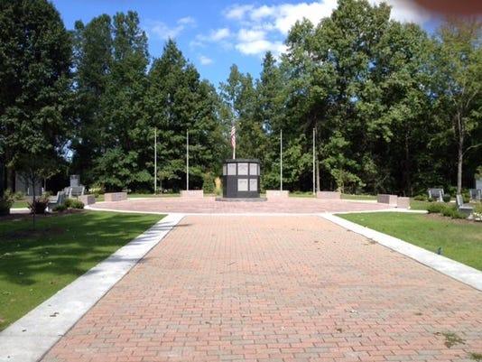 WSD memorial garden walk